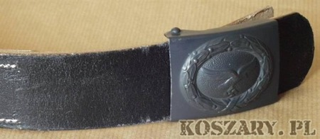 Pas skórzany  WEHRMACHT, SS, LW (repro)